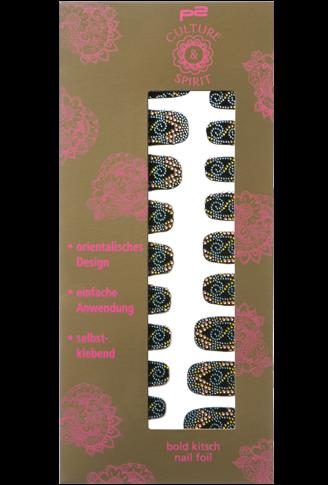 p2 Limited Edition: Culture & Spirit - bold kitsch nail foil - www.annitschkasblog.de