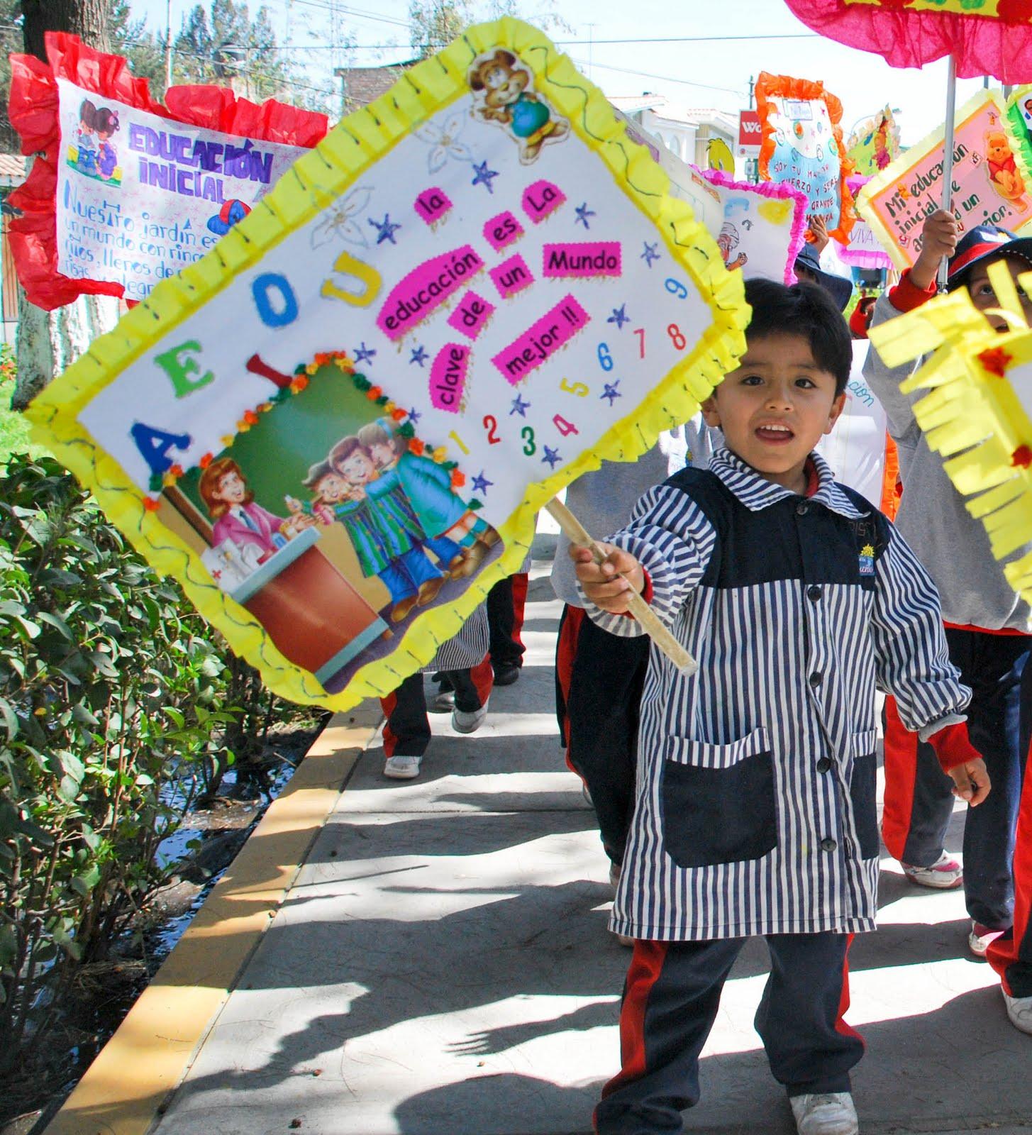 Modelos De Pancartas Por El Dia De La Educacion Inicial