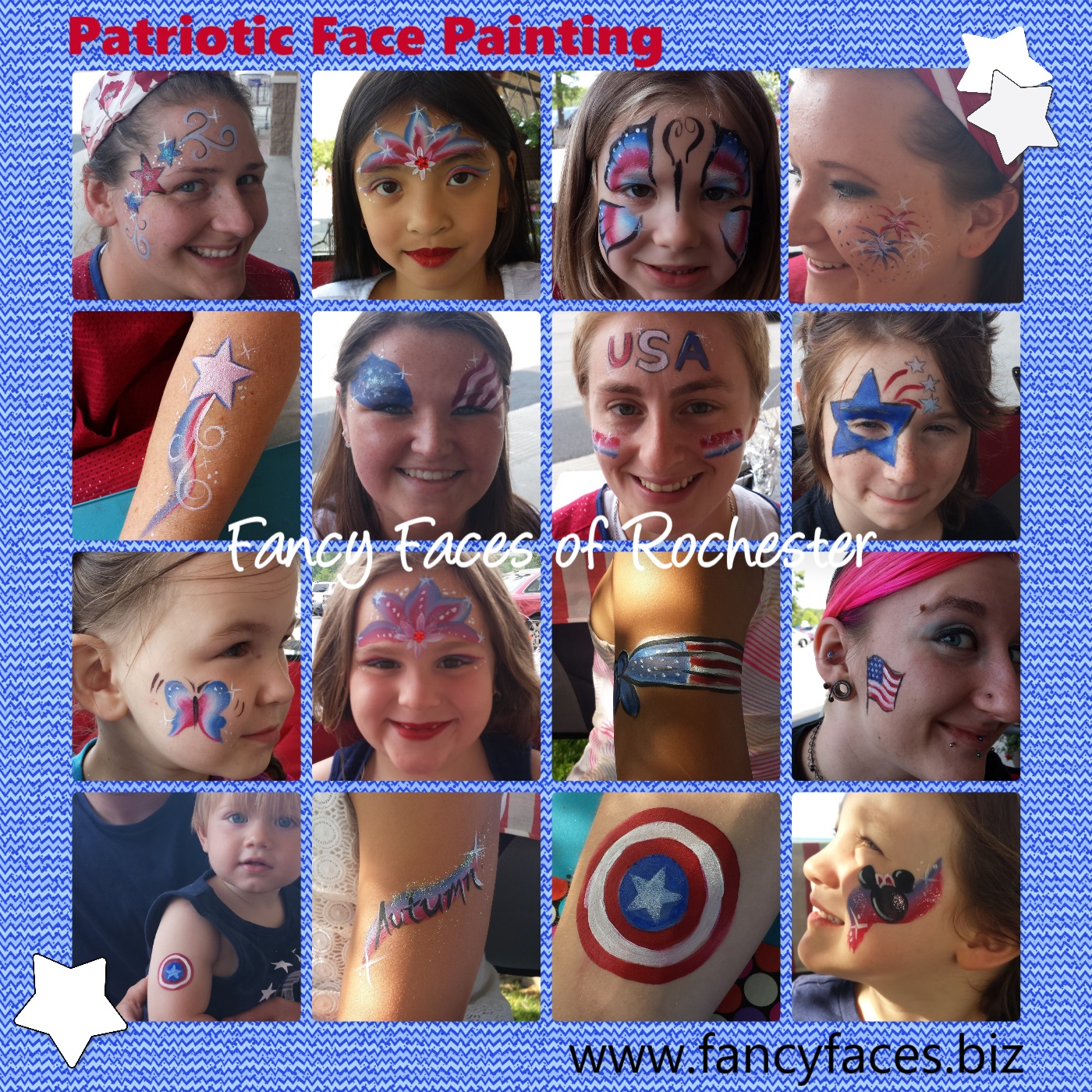 fancy faces of rochester