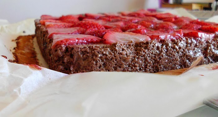 Skinny Strawberry Cheesecake Brownies Recipes — Dishmaps