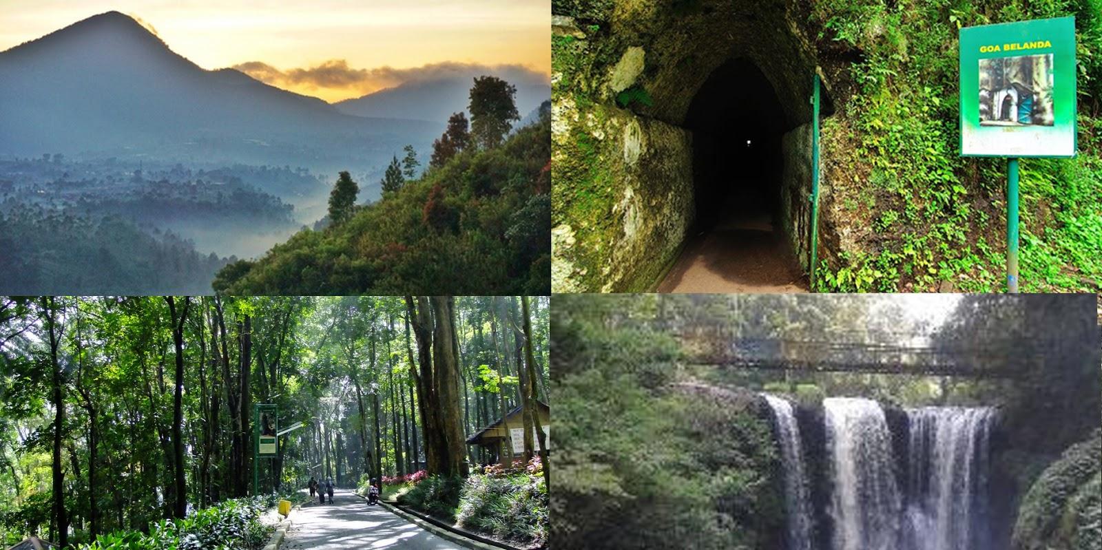 Lokasi dan Rute Tahura Dago Bandung