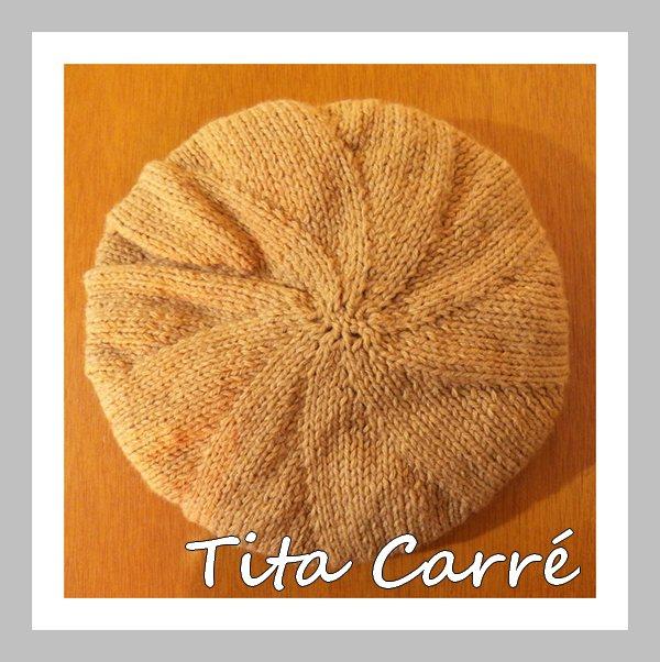 Gorro Star Knit com ponto chocalho em tricot