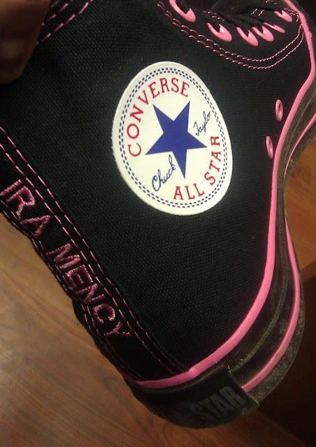 Ira Mency Designed Converse