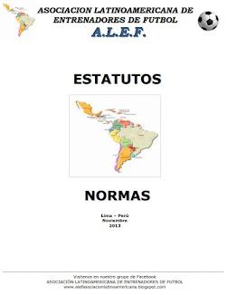 NORMAS Y ESTATUTOS DE LA ALEF