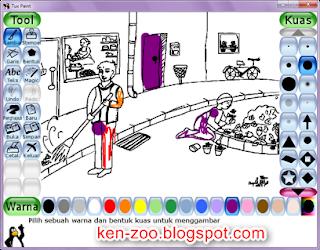 Software Gratis Menggambar dan Mewarnai Untuk Anak
