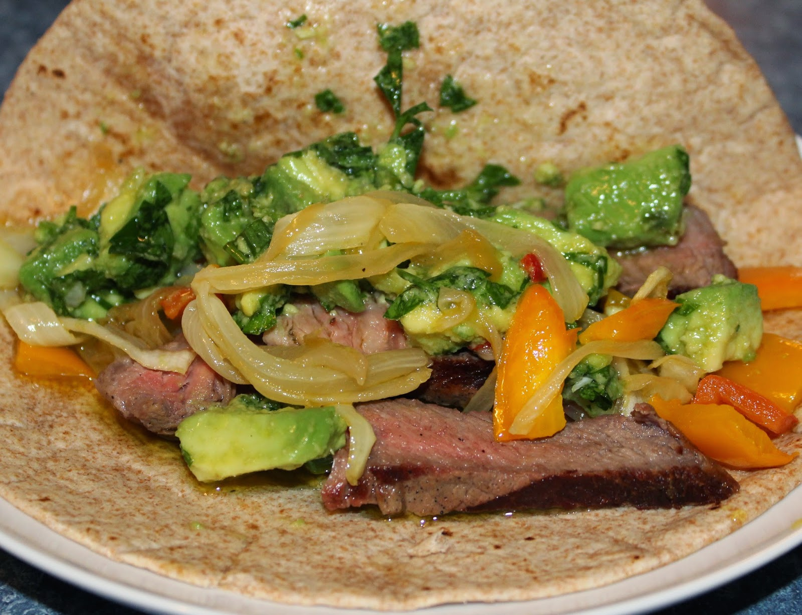 ... Chat: Grilled Steak Tacos with Awesome Avocado Chimichurri Sauce