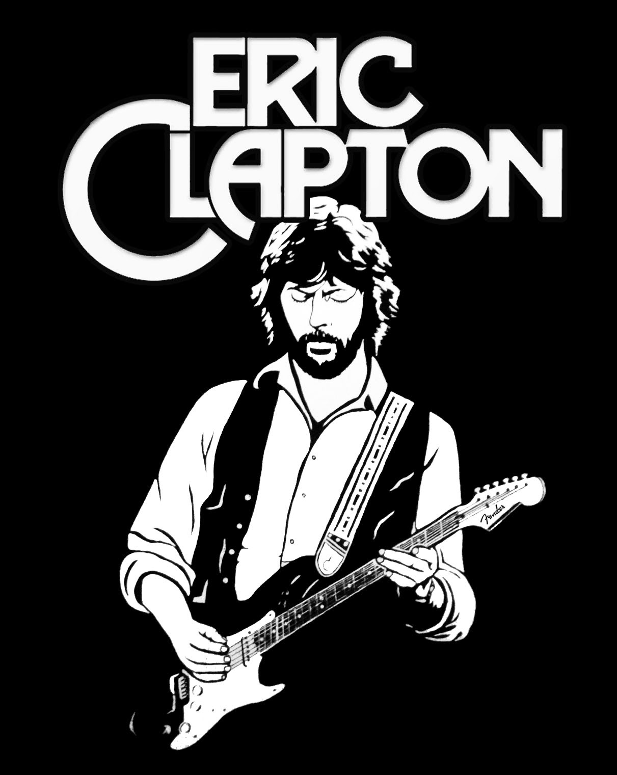 Eric Clapton Logo on game of thrones wallpaper