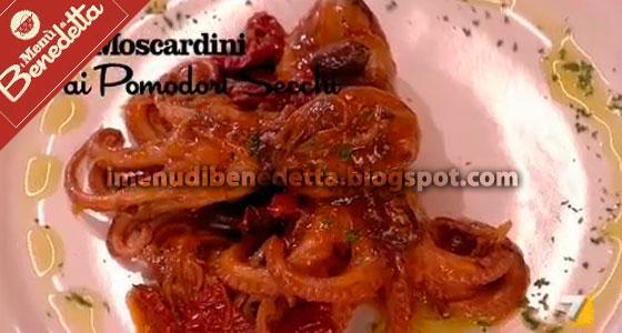 Moscardini ai Pomodori Secchi di Benedetta Parodi