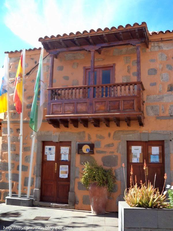 Rosa en gran canaria valsequillo ayuntamiento y oficina for Oficina turismo canarias