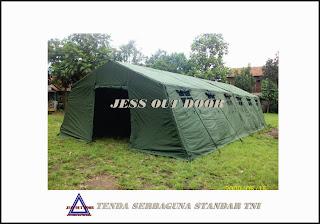 Pabrik, Tempat, Produksi, Tenda Serbaguna Militer TNI