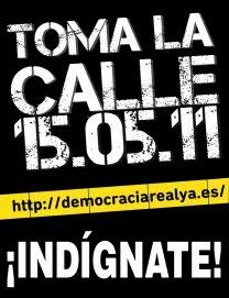 ¡Real Democracia YA!