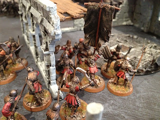 Hobbit SBG - Gothmogs Morannon orcs with Banner