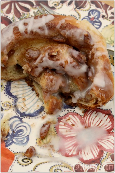 Giant Cinnamon Rolls w/ Buttermilk Glaze
