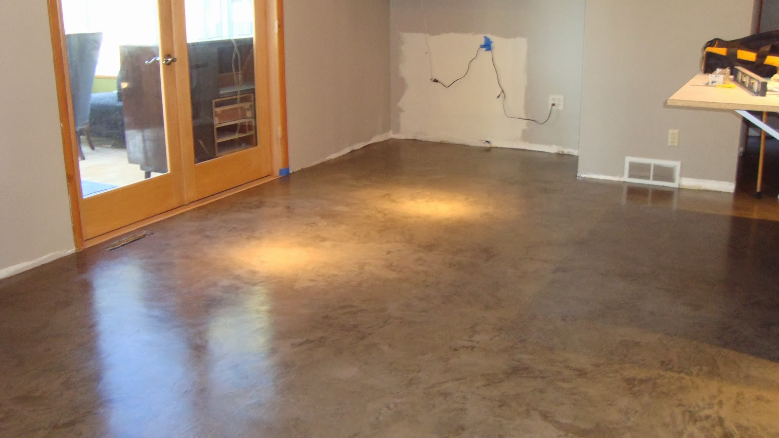 your decorative floor thinking blog heard carpeted overlay holland you mound overlayed flower floors custom so perhaps are if concrete have dallas of in redesigning stained tile tx or