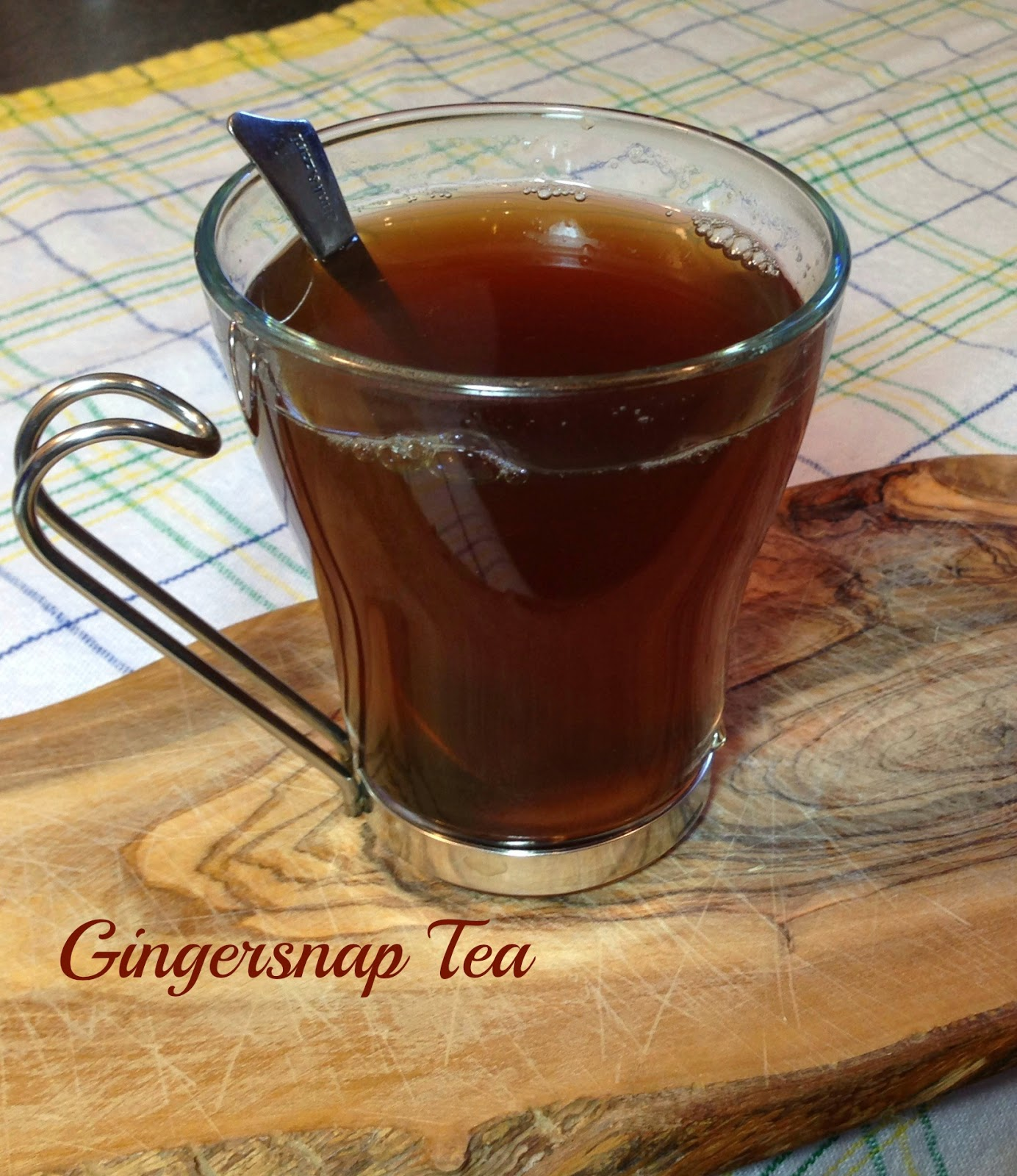 #GlutenFree Gingersnap Tea