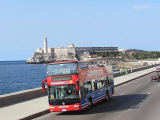 Bus Turistico de la Habana, Bus Turístico, La Habana, Turismo en Cuba,