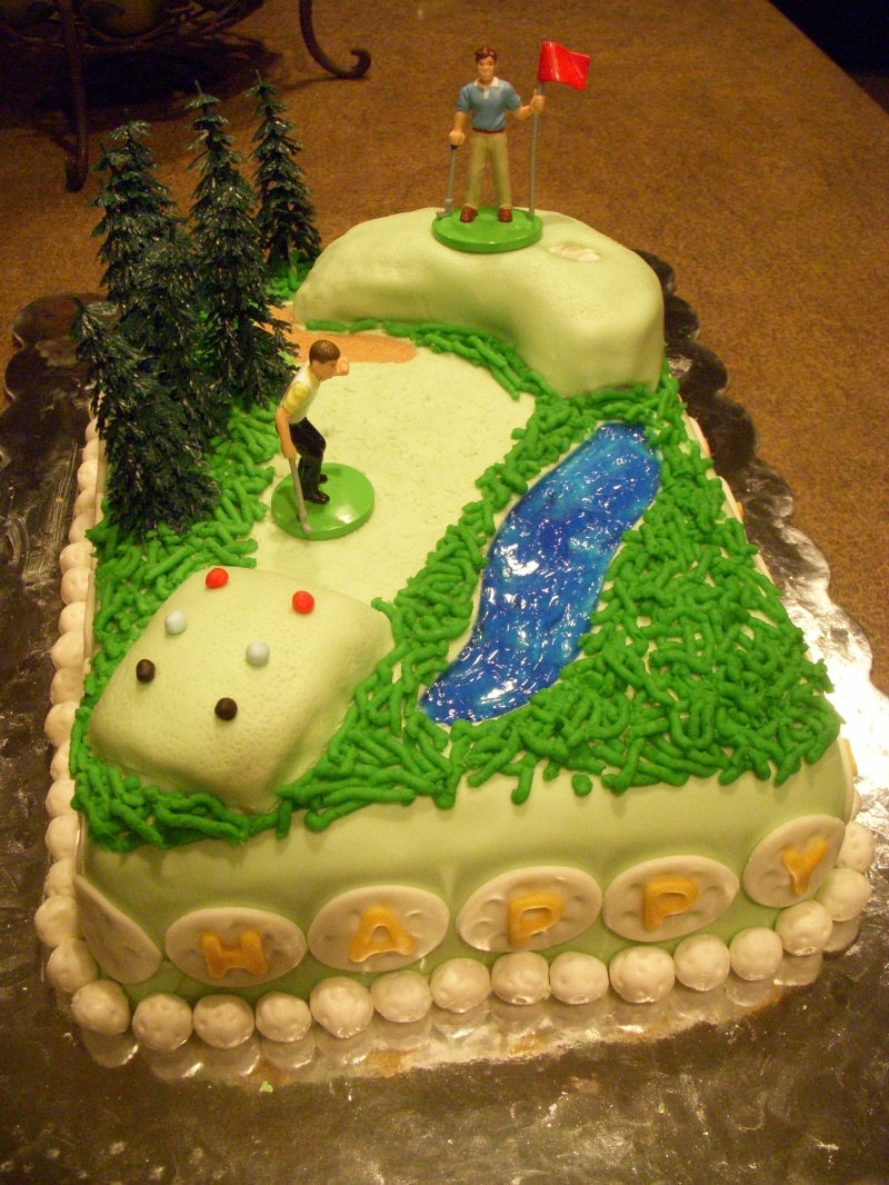 Happy Birthday Dad Golf Cake This cake was for my