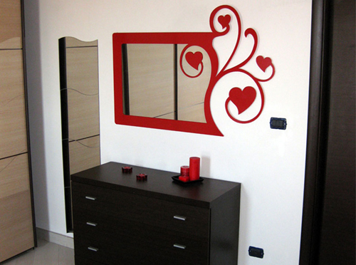 Kia design specchio cuori - Cuori allo specchio ...