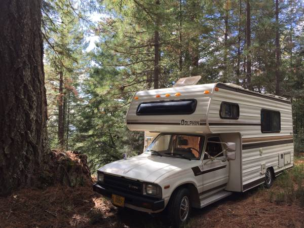 Used rvs 1983 toyota dolphin rv for sale for sale by owner for Motor home for sale by owner