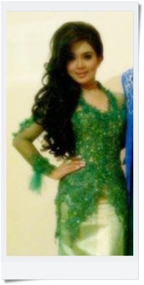 Gaun kebaya syahrini hairstyle gallery