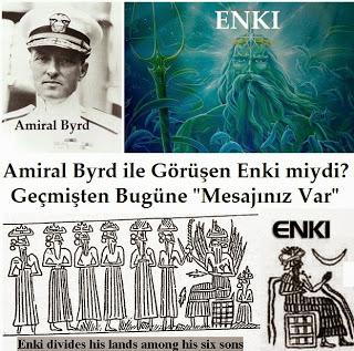 Amiral Byrd ile Görüşen Enki miydi? Geçmişten Günümüze Ulaşan Özel Bir Mesaj