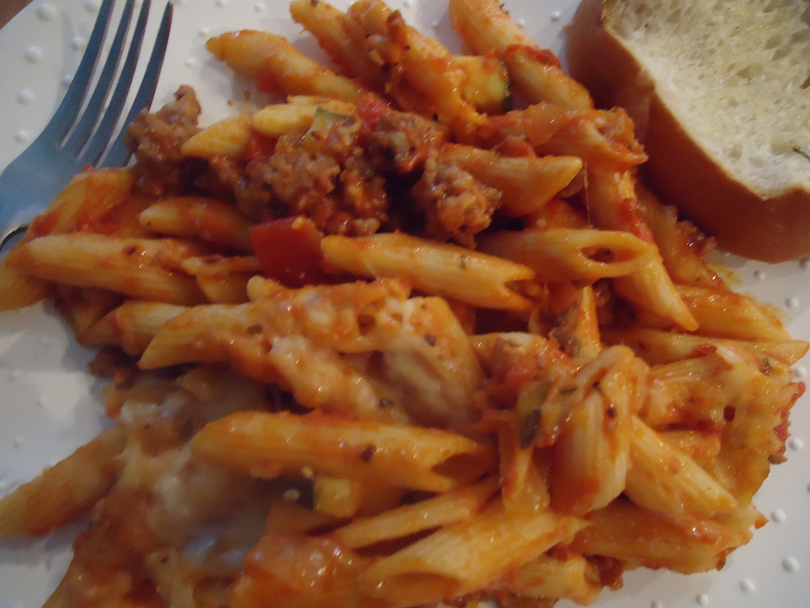 Naturally Homemade: Italian Sausage Casserole - freezer meal