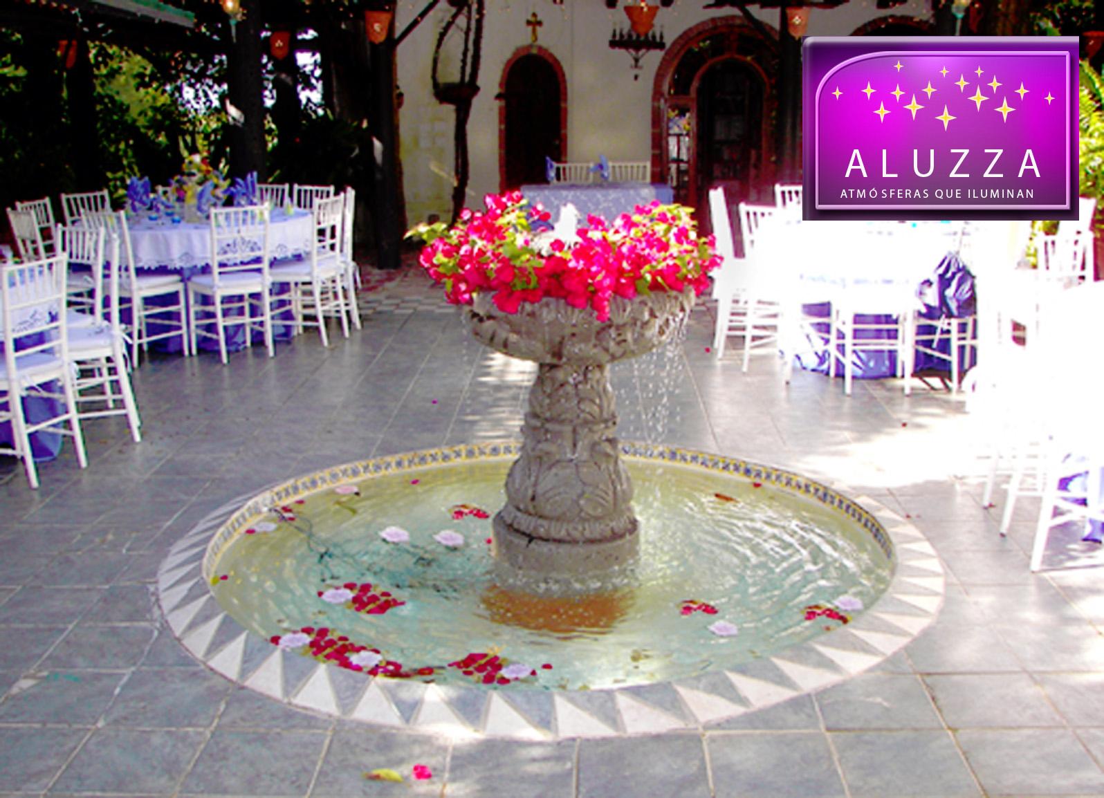 decoraci n de fuentes ponds y lagos en bodas y eventos