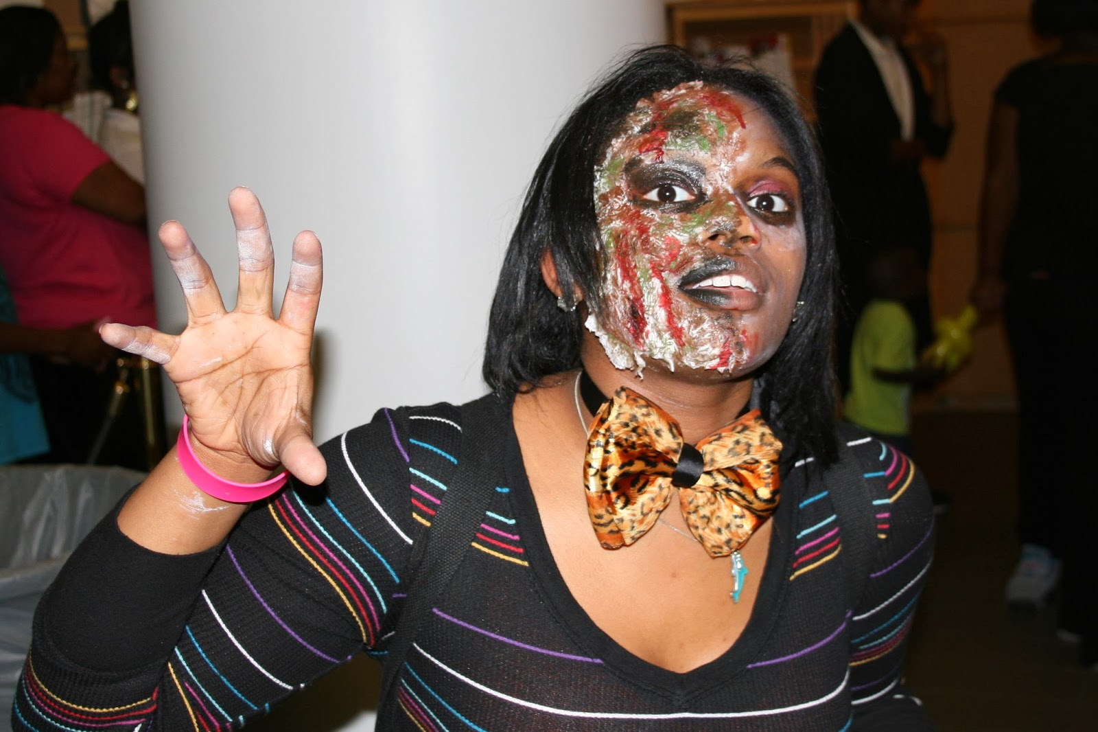 photo of costumed teen at 2012 Ghouls' Ball