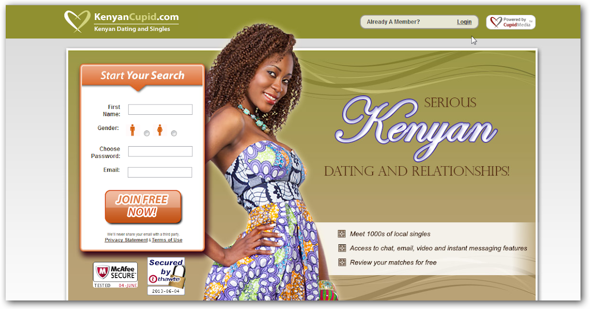 Kenya Sites No Dating Pay In