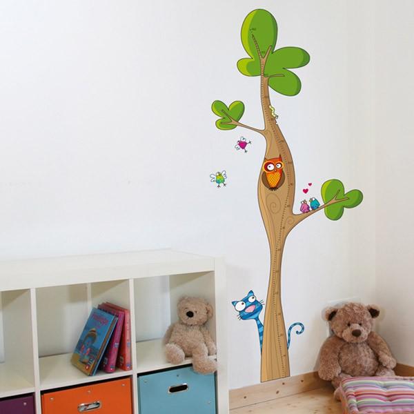 Decorar la habitaci n de los ni os con pegatinas para for Pegatinas pared nina