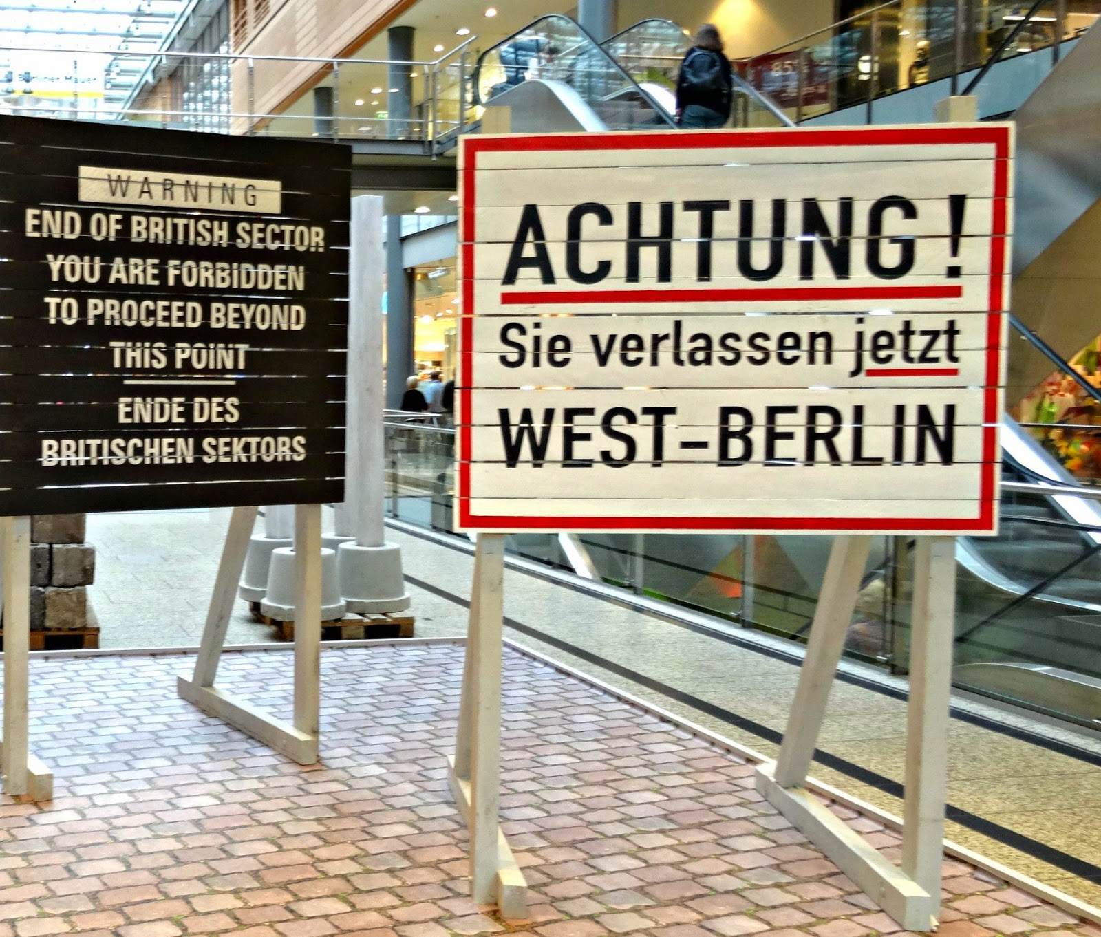 West and East Berlin