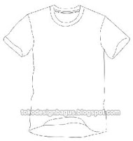 dengan efek lipatan baju seperti terlihat dari bagian dalam baju