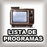 LISTA DE PROGRAMAS AMERICA TV