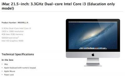 iMac para Instituciones Educativas