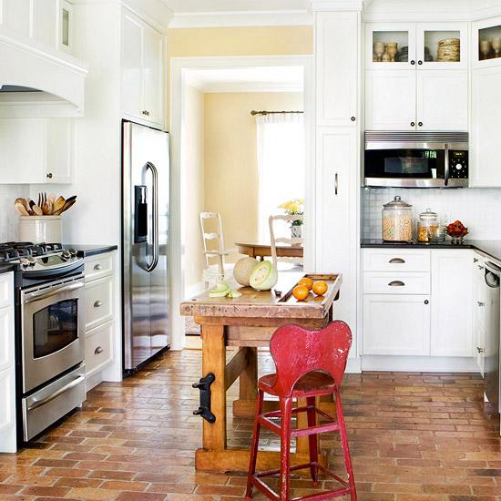 Fotos de cocinas peque as con isla ideas para decorar - Cocina con isla pequena ...