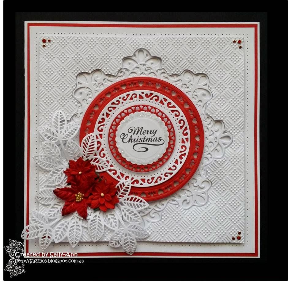 My Crafty Corner A Square Aperture Christmas Card
