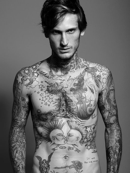 Hot sexy tattoos for man for Hottest tattoos for guys