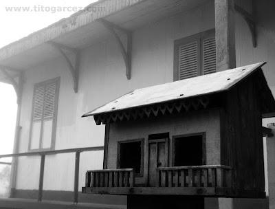 Casa e caixa de correios em Paranapiacaba