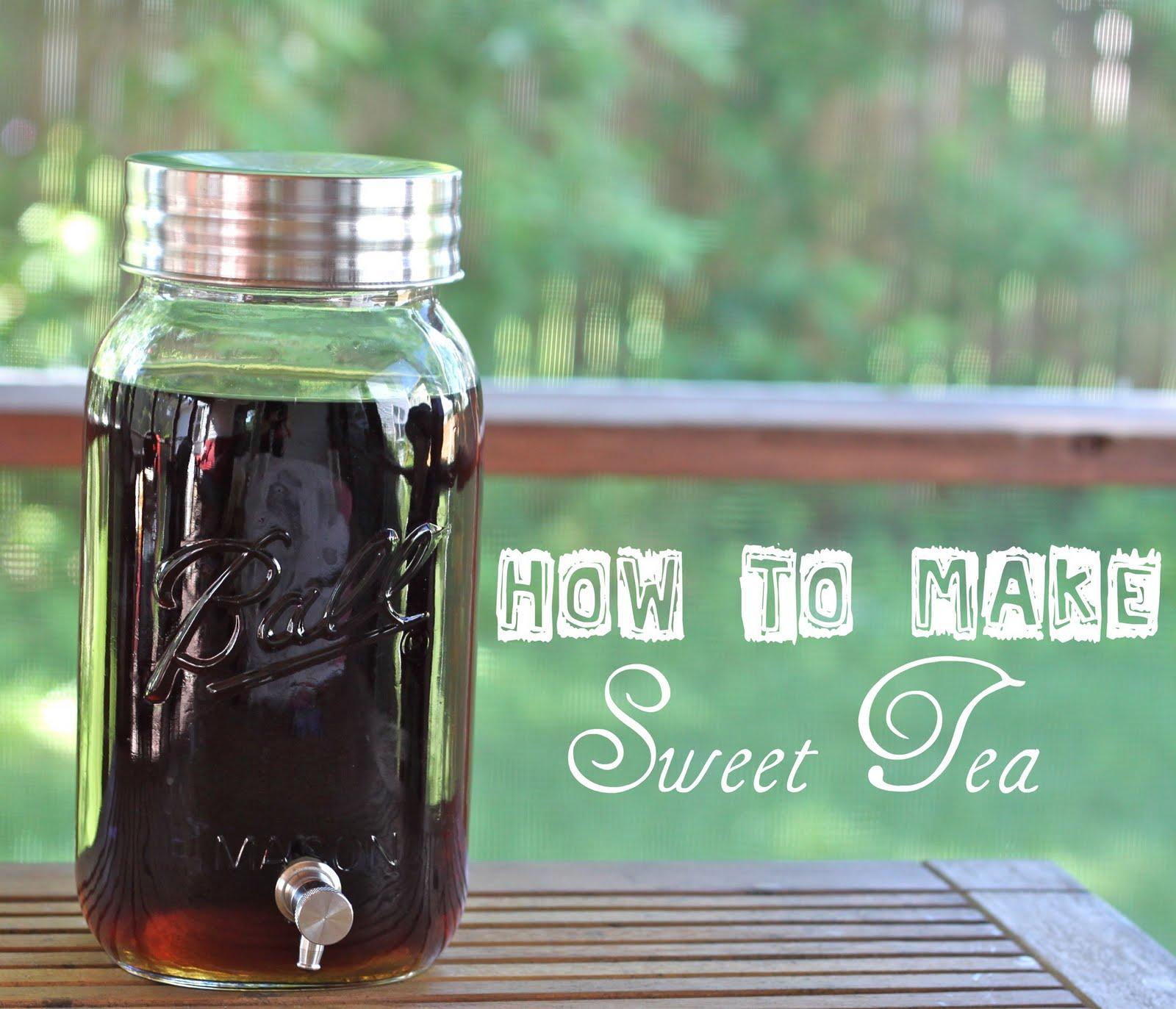 how to make hardees sweet tea