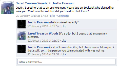 Justin Pearson probably thinks I am a dick