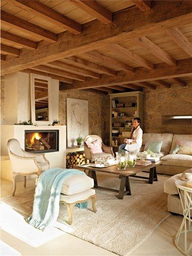 Blog by nela tradici n y modernidad tradition and modernity - Salones de casas rusticas ...