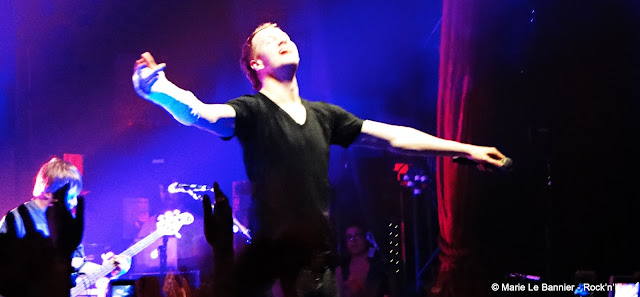 Imagine Dragons Bataclan Paris Rock'n'Live 2013 Marie Le Bannier Dan Reynolds Radioactive It's Time Night Visions