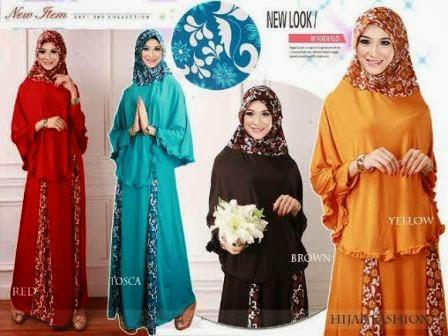 Baju Gamis Busana Muslim Lebaran Trend 2014 Terbaru Aneka