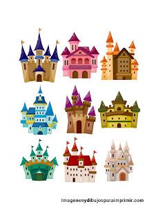Print sheet castles