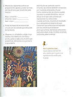 Apoyo Primaria Educación Artística 3er grado Bloque I lección 2 Donde hay luz, hay calor