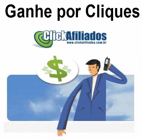 Ganhe dinheiro com anúncios Click Afiliados no seu site