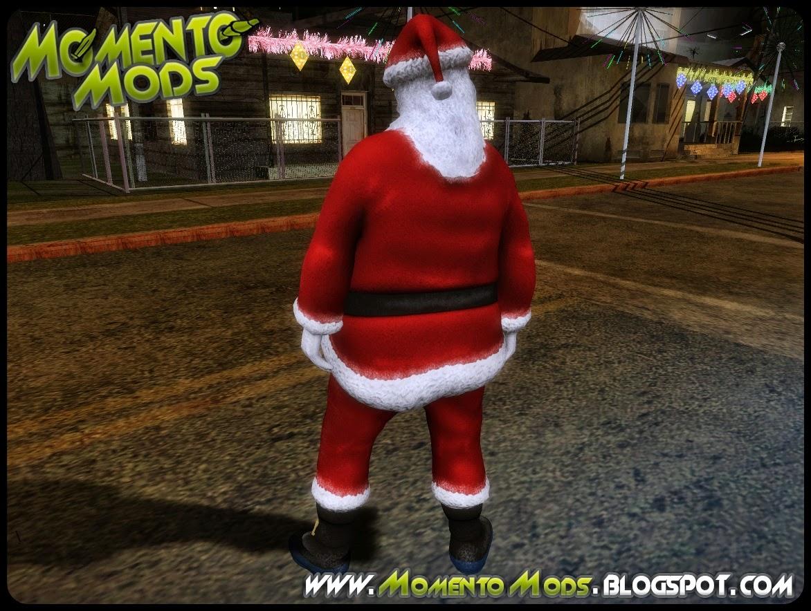 GTA SA - Skin Papai Noel Em HD