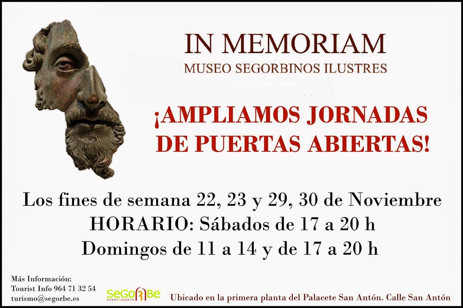 Museo In Memoriam, Segorbinos Ilustres
