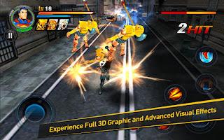 Justice League:EFD v1.0.2 APK+DATA: game hành động siêu anh hùng bảo vệ thế giới