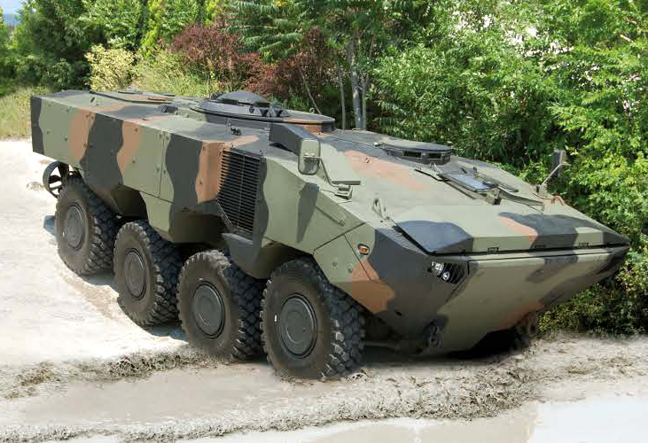 Superav 8X8 Amphibious Armoured Vehicle
